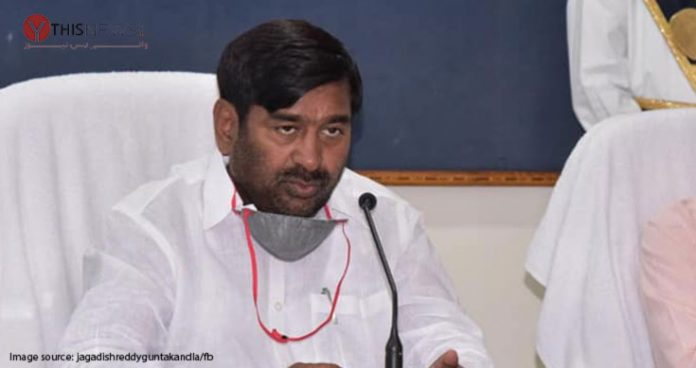 Only Telangana state gives 24 hr power to farming: Jagdish Reddy