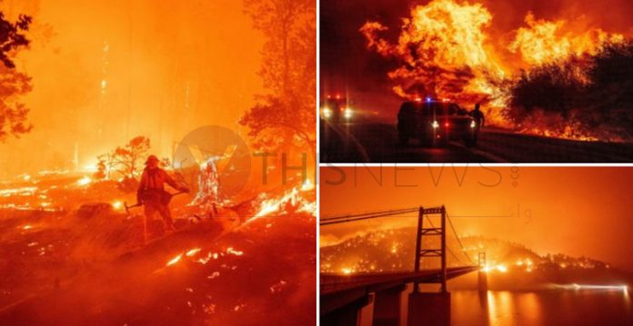 An Uncontrollable Wildfire Places Many LA Cities Under Evacuation Warnings