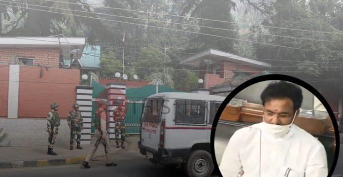 No government official under house arrest in Jammu & Kashmir