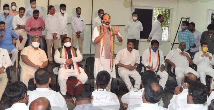 Only Congress can bring back lost glory of Hyderabad: Uttam