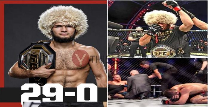 29-0 undefeated- Khabib leaves the world of Octagon, announces retirement