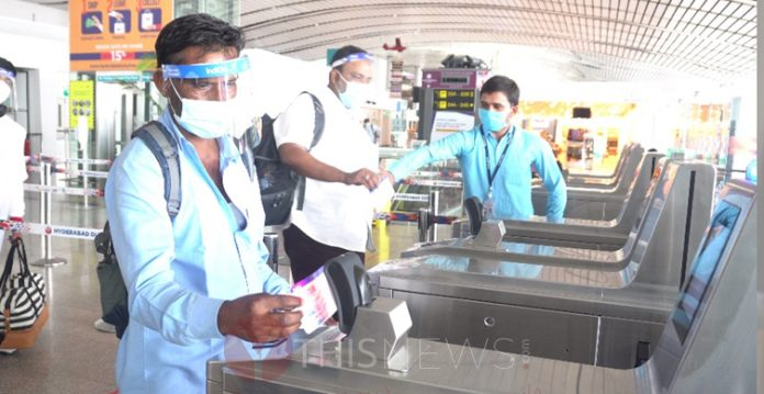 E-Boarding for International Passengers Introduced by Hyderabad Airport