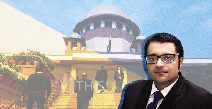 Republic TVRemove term: Supreme Court Supreme CourtRemove term: Justice D.Y. Chandrachud Justice D.Y. ChandrachudRemove term: Mumbai Police Mumbai PoliceRemove term: TRP scam TRP scam