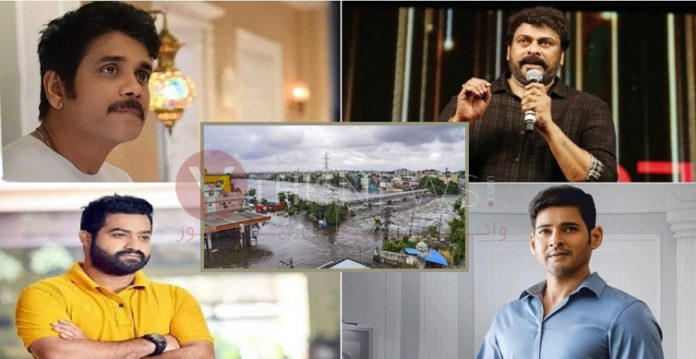 Tollywood Celebrities Declare Contributions for Telangana Flood Relief