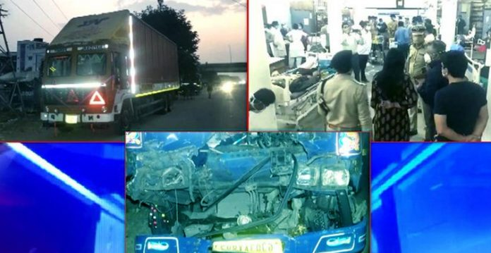 10 Dead and 16 Injured in Truck Accident Near Vadodara