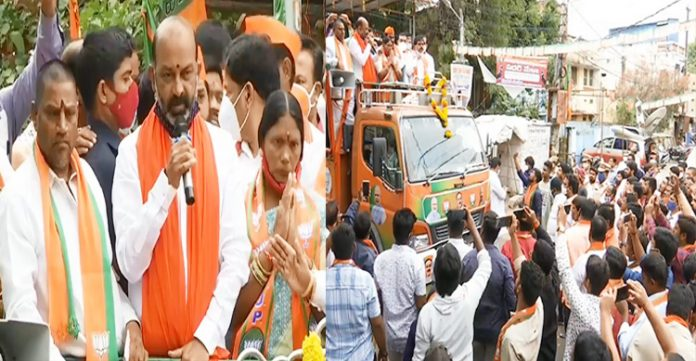 BJP state chief campaigns for party candidate in Kurmaguda division