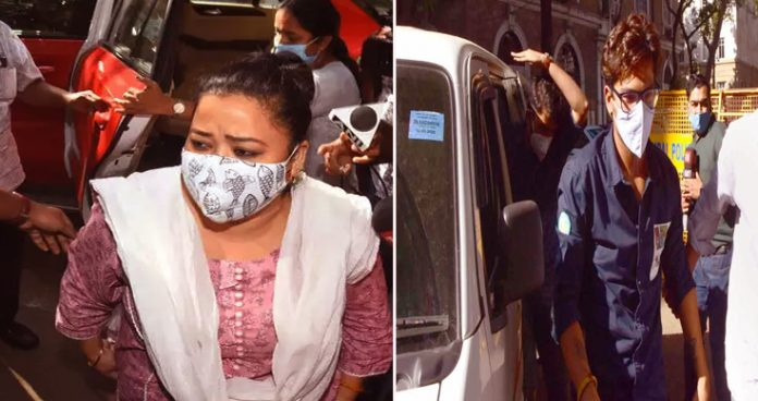 Bharti Singh and husband accept use of drugs, couple arrested
