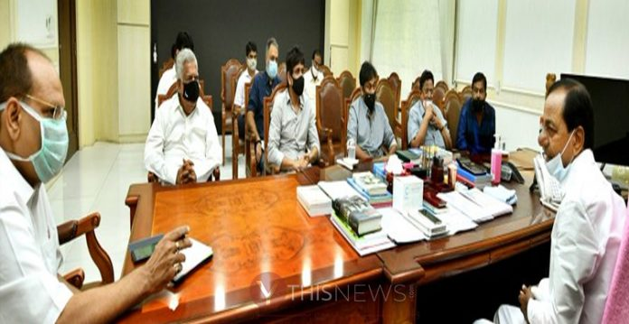 Launch the non-agriculture properties registration from November 25 CM KCR
