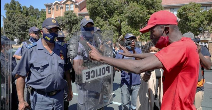 """""""Whites-only"""" party ignites anti-racism protests in South Africa"""