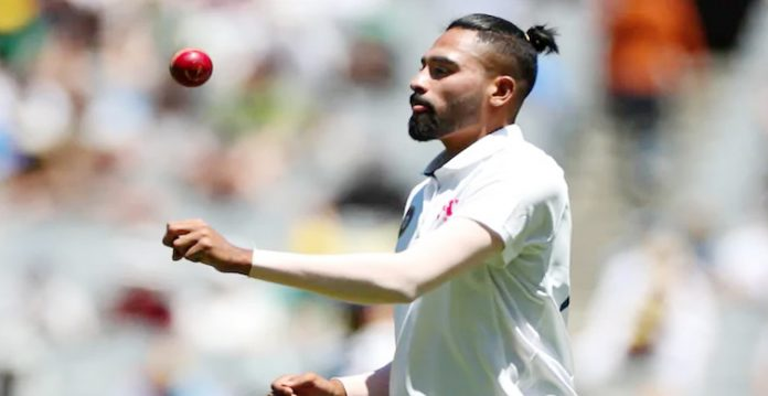 Mohammed Siraj become the first debutant who took 5 wickets in a test match