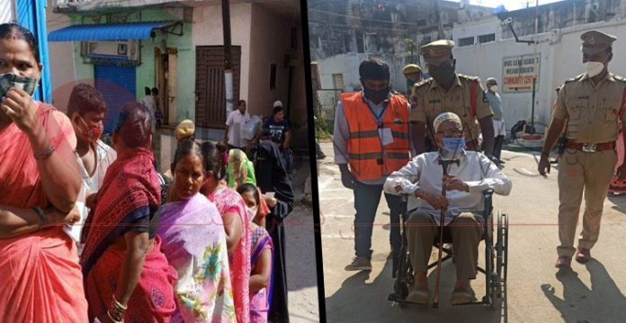 Polling Commenced in Greater Hyderabad Amid Tight Security