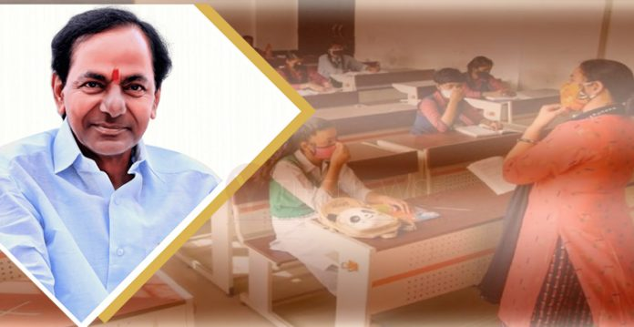 All schools, colleges in Telangana to begin from Feb 1st- KCR