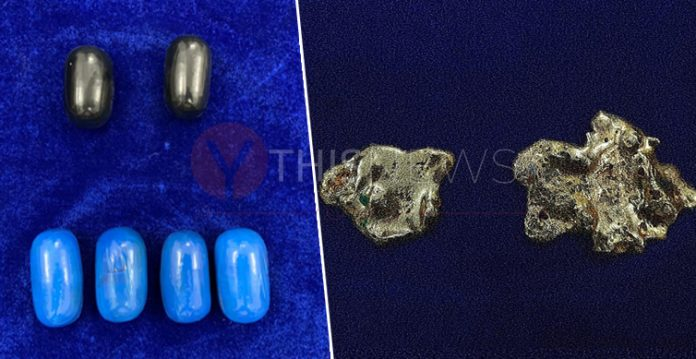 Chennai airport- 2 passengers arrested for smuggling gold paste in rectum