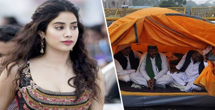 Jahnvi Kapoor becomes the target of protesting farmers at film shoot in Punjab