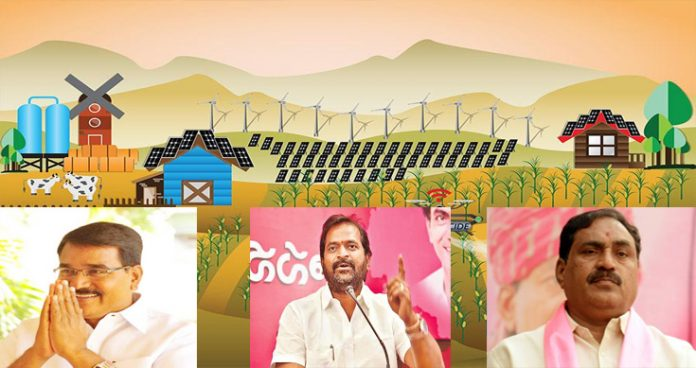 Kcr Govt For Villages Development With Funds Ministers Pacify Sarpanches