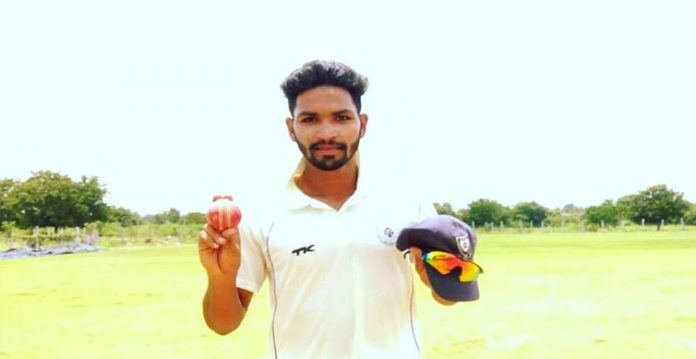 Mohammed Abrar, a new emerging bowling sensation of Hyderabad