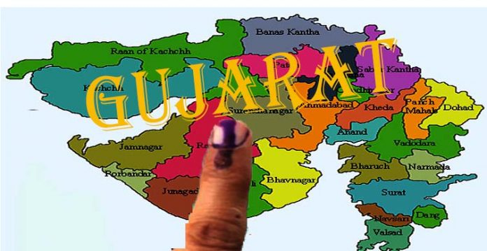 bjp leads in municipal elections in gujarat