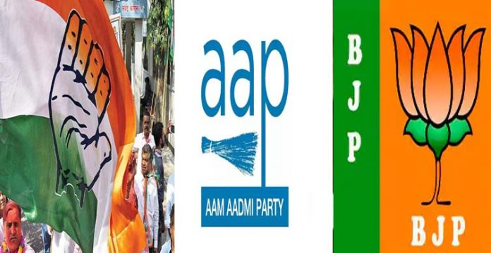 Big setback for Congress as AAP scores in Gujarat civic polls