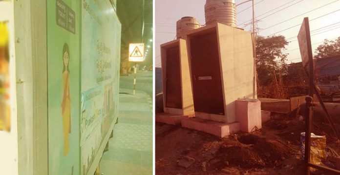 pathetic state of public toilets in city outskirts exposed ghmc's tall claim