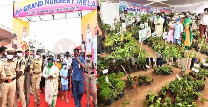 The Grand Nursery Mela At Necklace Road Hyderabad Comes To An End