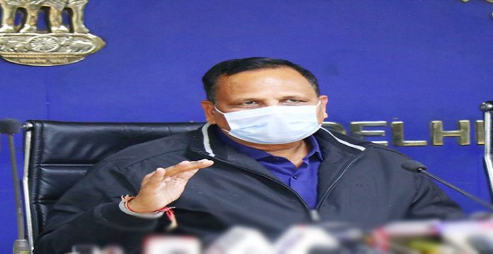 delhi health minister expresses concerns over rising covid 19 cases amongst youth