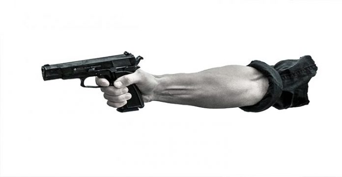 four armed men rob rs 14 lakh from courier company in bihar