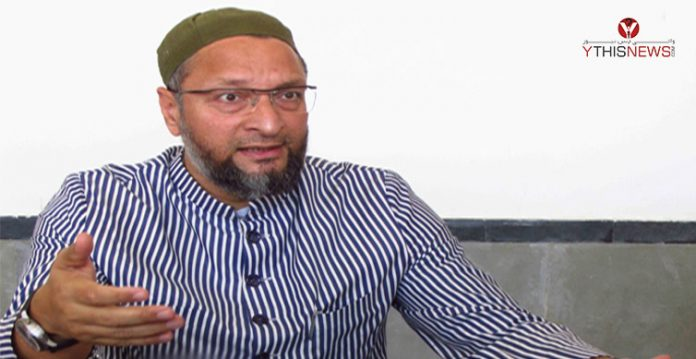 mp asaduddin owaisi helps priest from old city