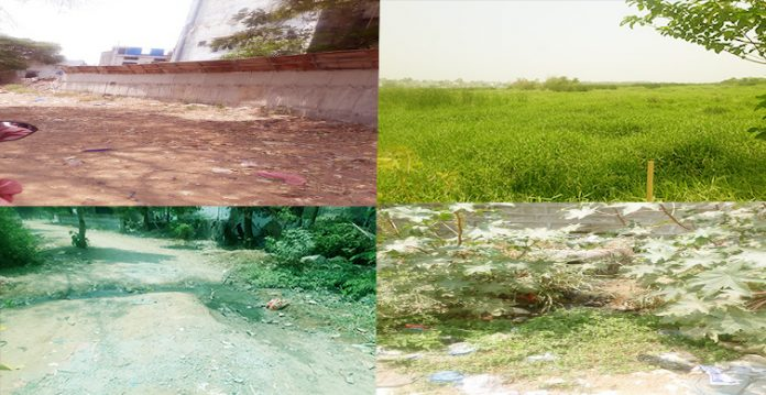 mir alam lake beautification project moving with snail pace