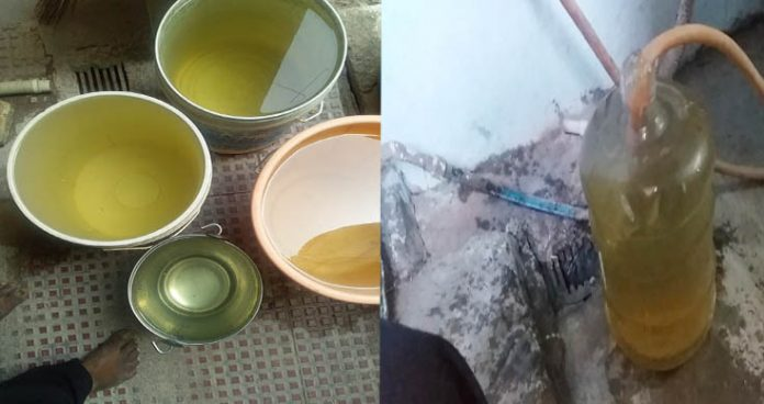 murky water supplied by hmws&sb bring woes for citizens again