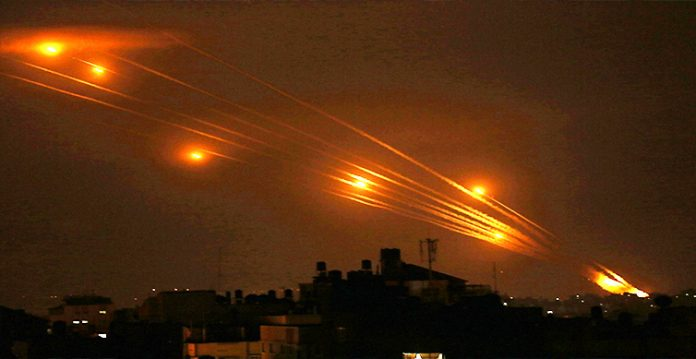 3,150 rockets fired from gaza israel army