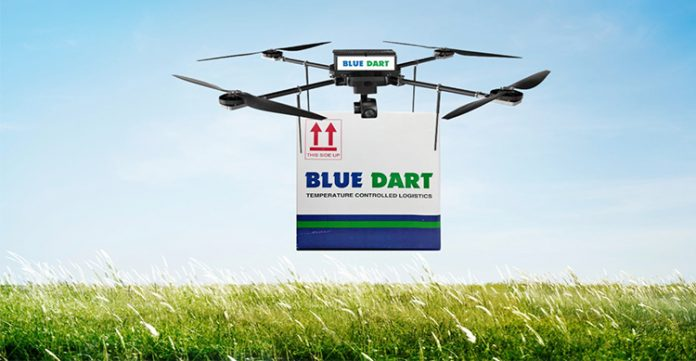 Blue Dart Med-Exp to operate experimental Unmanned Aircraft System for delivery of vaccines and emergency medical supplies