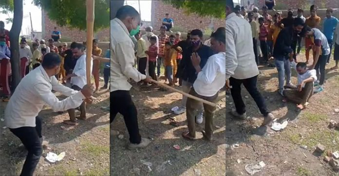 Cow vigilantes assault Muslim man in UP, police press charges on victim