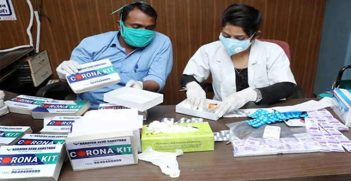 over two lakh medical kits delivered to covid patients in madhya pradesh
