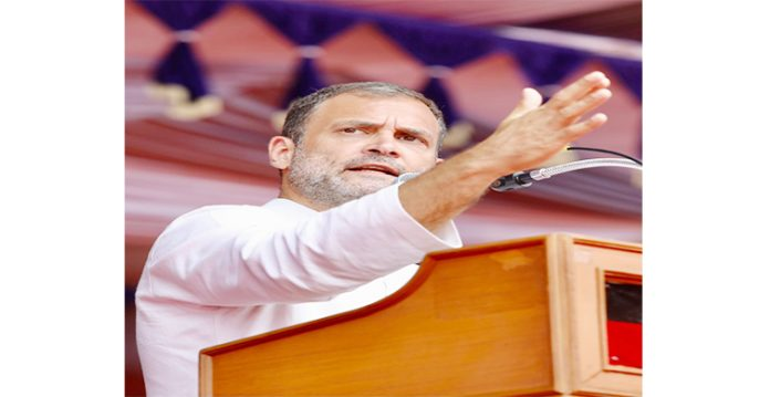 rahul gandhi takes a jab at modi government; supports complete lockdown nationwide