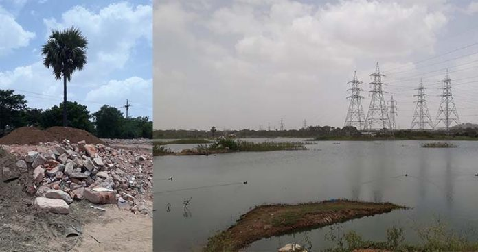 Encroachments over Jalpally Lake put officials on their toes again