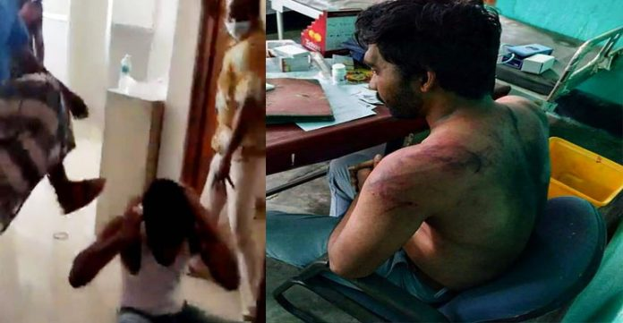Assam doctor brutally assaulted by covid deceased's family; horror caught on camera