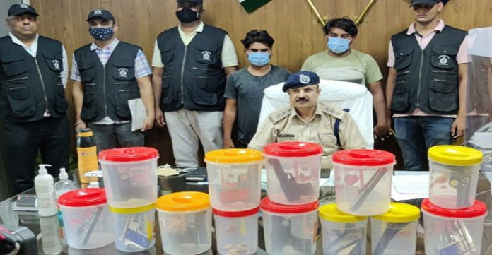 Illegal Arms Trade Busted by Gurugram Police