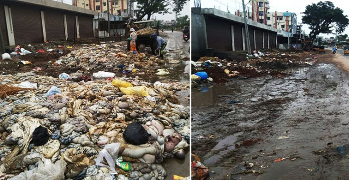 A swift sanitation drive earned Jalpally officials applause from people