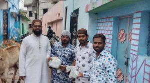 Sahayata Trust extends a helping hand through distribution of 'Sanitary Kits'
