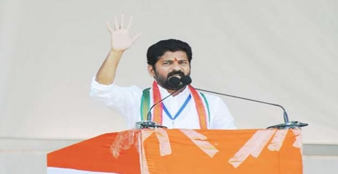 tpcc chief revanth reddy hits out at cm kcr