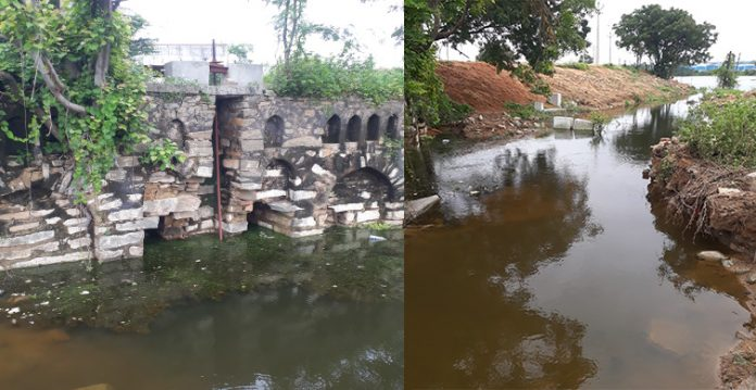 Appa Cheruvu gets more outlets to flush out invasive inflows