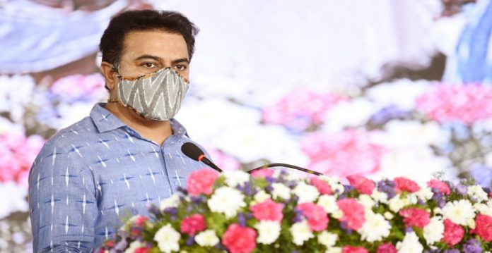 KT Rama Rao denied links with the infamous drugs issue